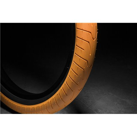 Покрышка BMX KINK Sever 2.4 оранжевый с черный корд