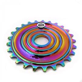 Звезда Armour Bikes Shockwave 25t Oil Slick (нефтяное, масляное)