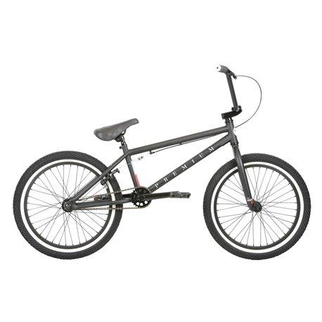 Велосипед BMX PREMIUM Stray матовый черный 20.5 2019