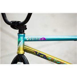 Рама BMX KINK Williams 21 черная