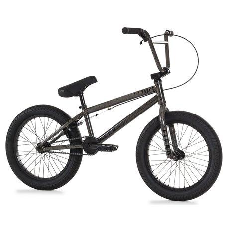 Велосипед BMX Kink Curb 20 матовый Guinness черный 2020