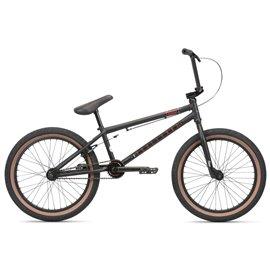 Велосипед BMX WeThePeople CRYSIS 2020 21 матовый полупрозрачный серо-зеленый