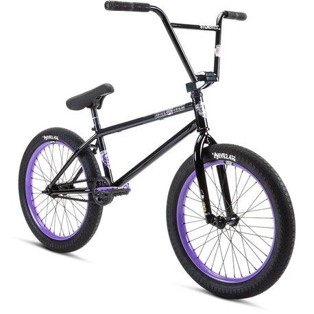 Велосипед BMX Stolen 2021 SINNER FC XLT RHD 21 ччерный с лавандовым