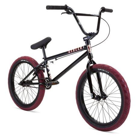Велосипед BMX Stolen 2021 CASINO XL 21 черный с кровавым красным