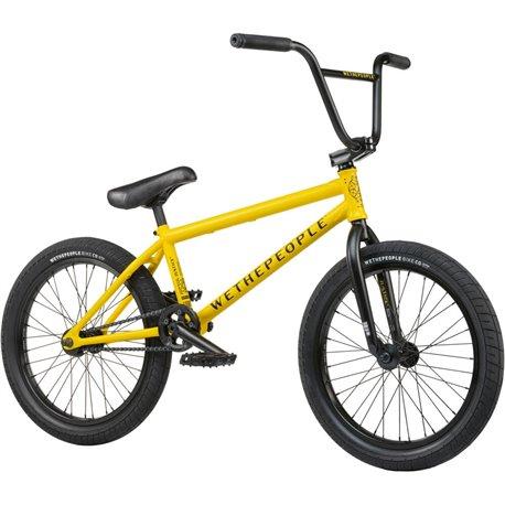 Велосипед BMX Wethepeople Justice 2021 20.75 желтый матовый