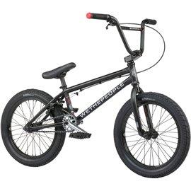 Велосипед BMX Wethepeople Curse 18 2021 черный матовый