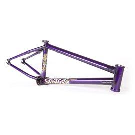 Рама BMX Fit Savage 20.75 Matt Nordstrom Edition фиолетовая