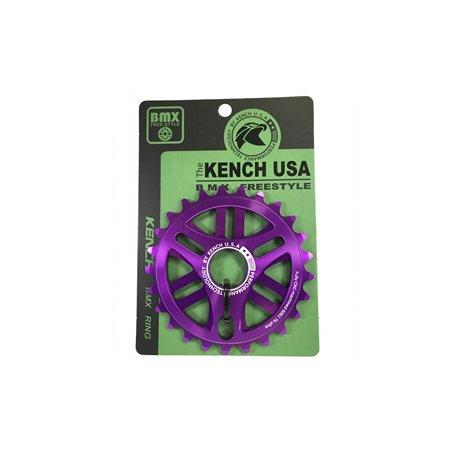 Звезда KENCH 6mm 25T CNC фиолетовый